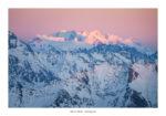 Coucher de soleil sur le Mont-Rose