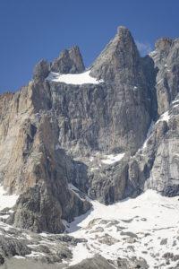 L'arête du Promontoire et le Grand Pic de la Meije